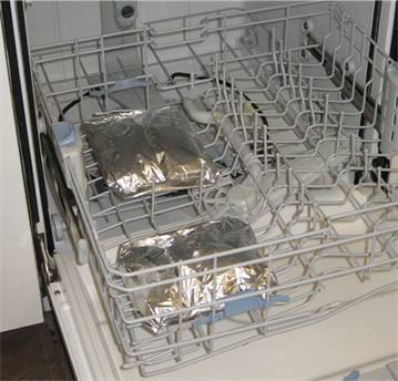 How to cook dishwasher Lasagna?